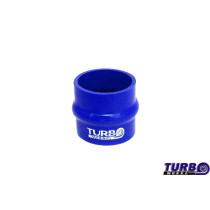 Szilikon rezgéscsillapító összekötő, egyenes TurboWorks Kék 76mm